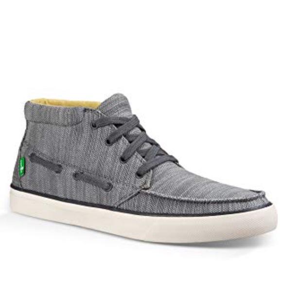Sanuk Mens Sea Mid Sneaker Pick SZ//Color.